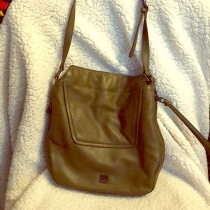 Kooba army green hobo bag (medium)